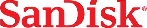 Het logo van Sandisk