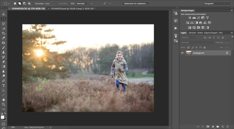 Het photoshop programma voor fotografen