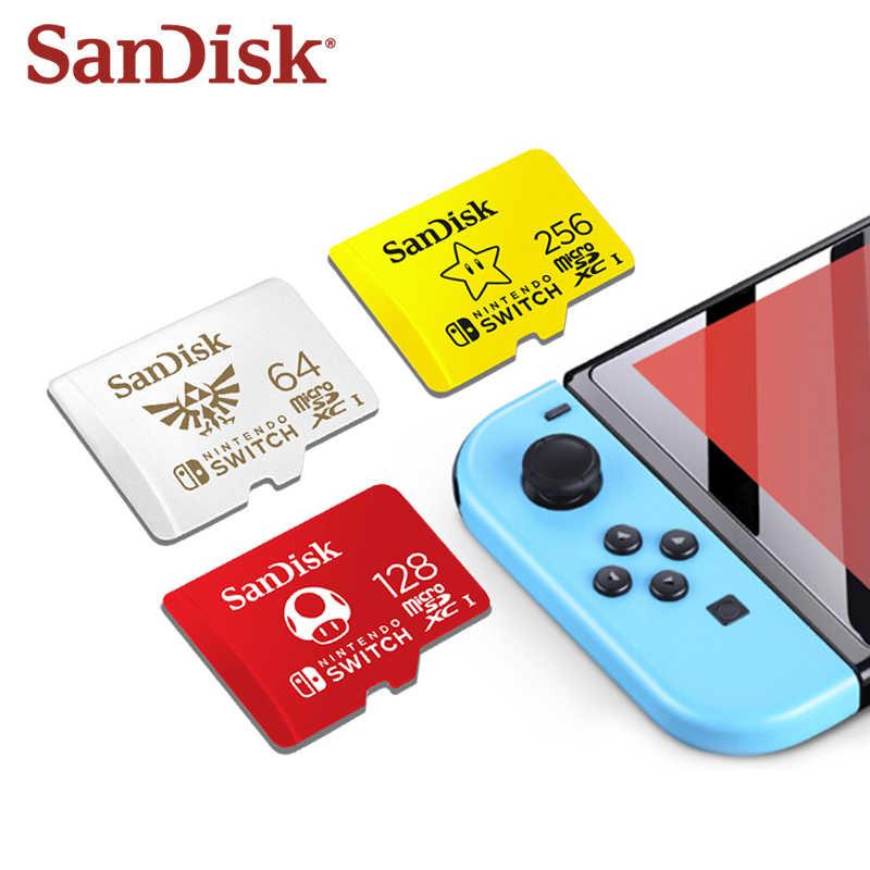 Micro sd kaarten van Sandisk voor de Nintendo Switch
